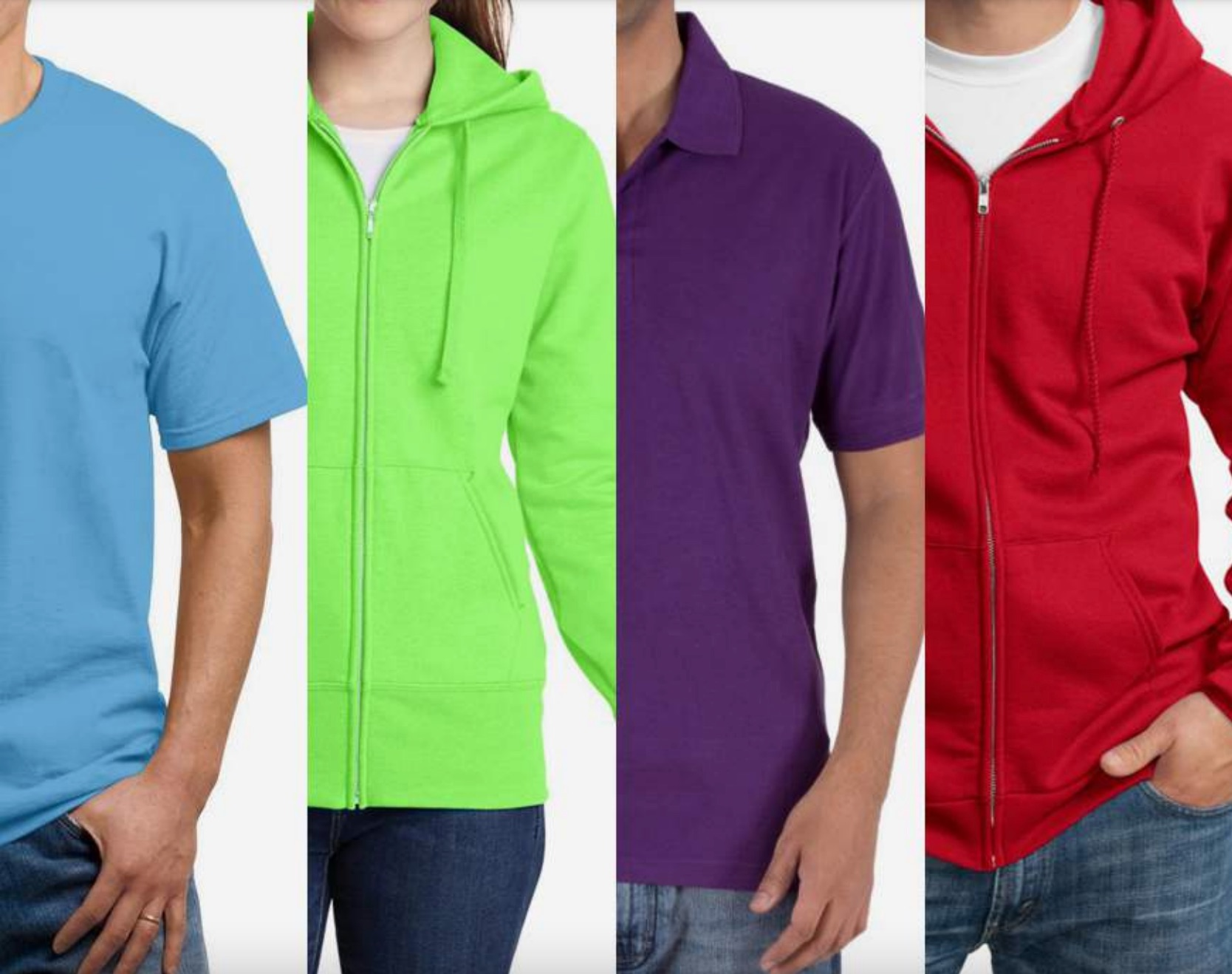 Blank apparel manufacturer